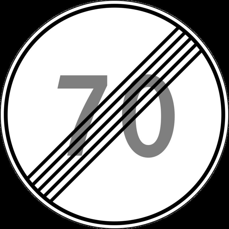 Дорожные знаки отмены