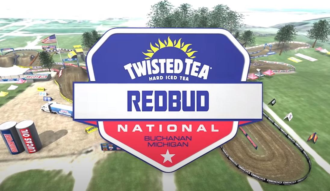 АМА Мотокросс 2021: Анимация трека RedBud National