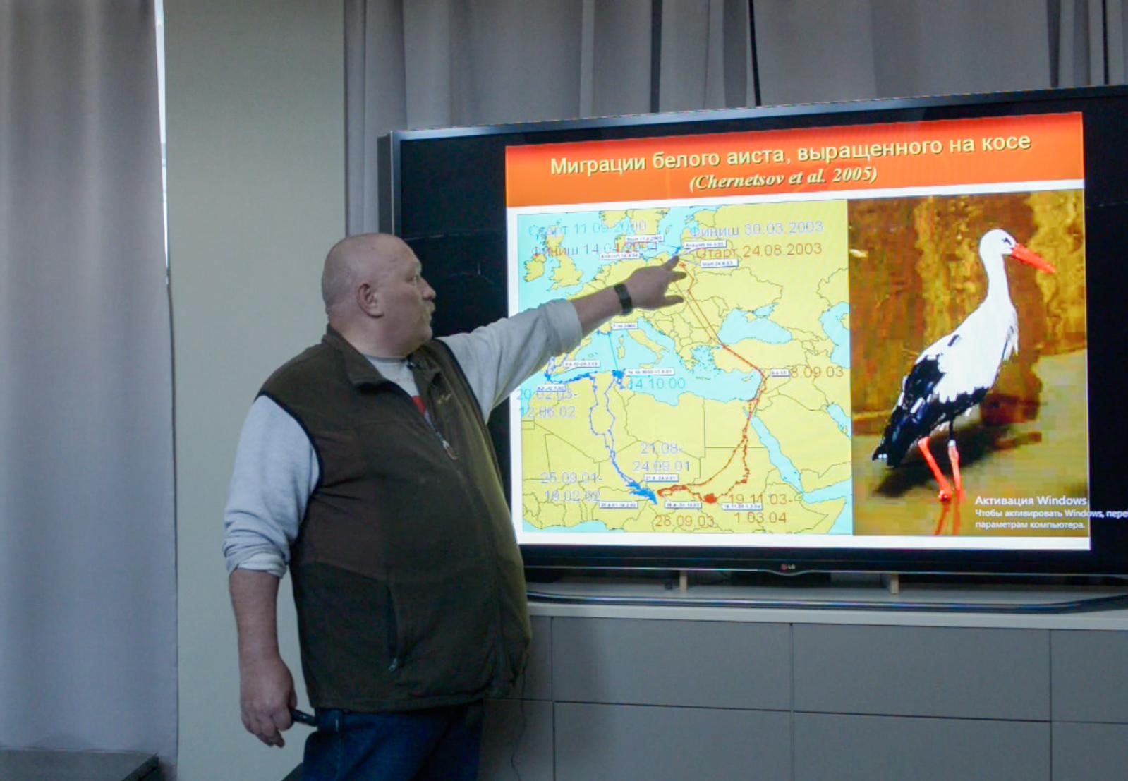 Михаил Марковец, научный сотрудник биостанции «Рыбачий»