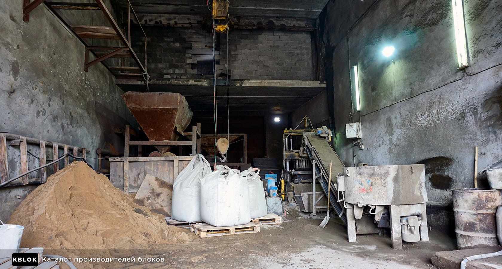 производственный участок по выпуску керамзитных блоков в Чувашии