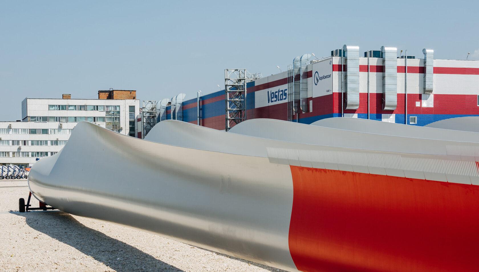 Ульяновский завод Vestas выпустил 600-ю лопасть