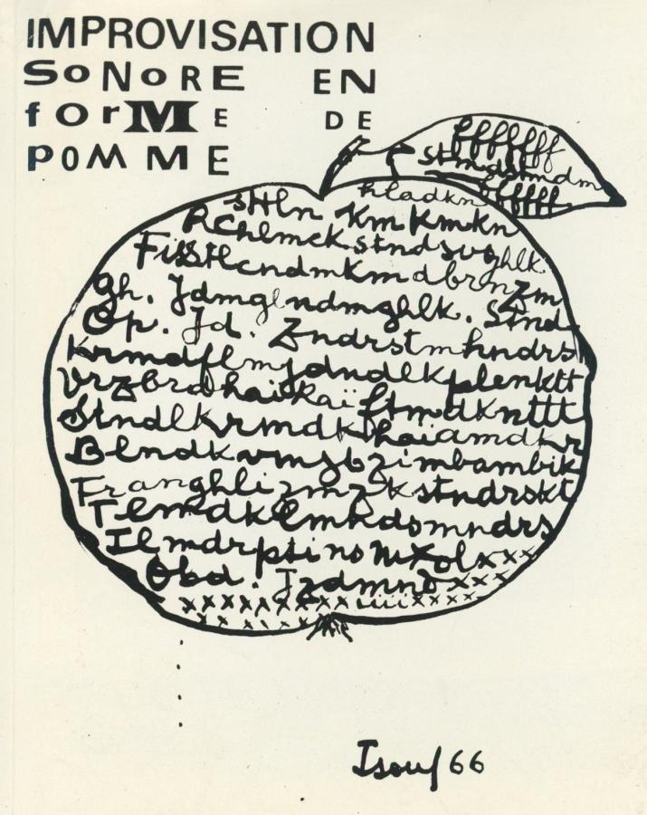 Ісидор Ізу, Летризм, 1966
