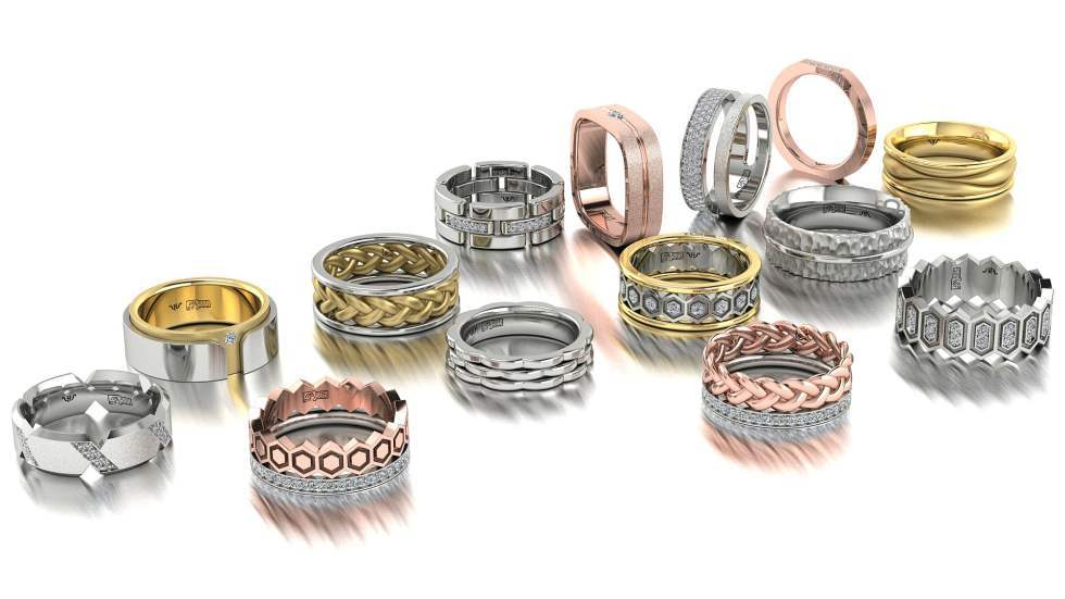 Купить парные обручальные кольца из золота от производителя