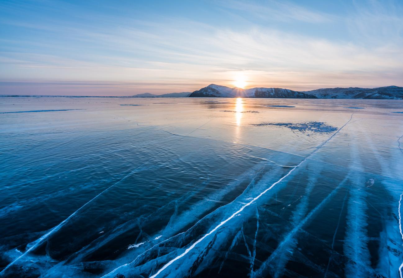 Лёд байкал,тур на байкал зимой