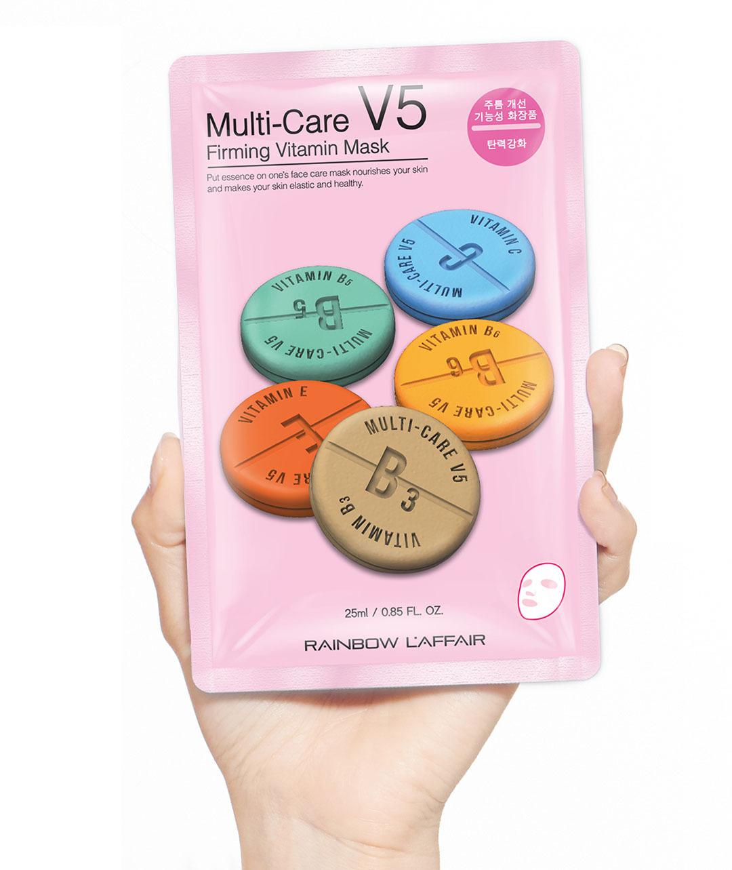 Укрепляющая маска Rainbow L'Affair Multi-Care V5 Firming Vitamin Mask