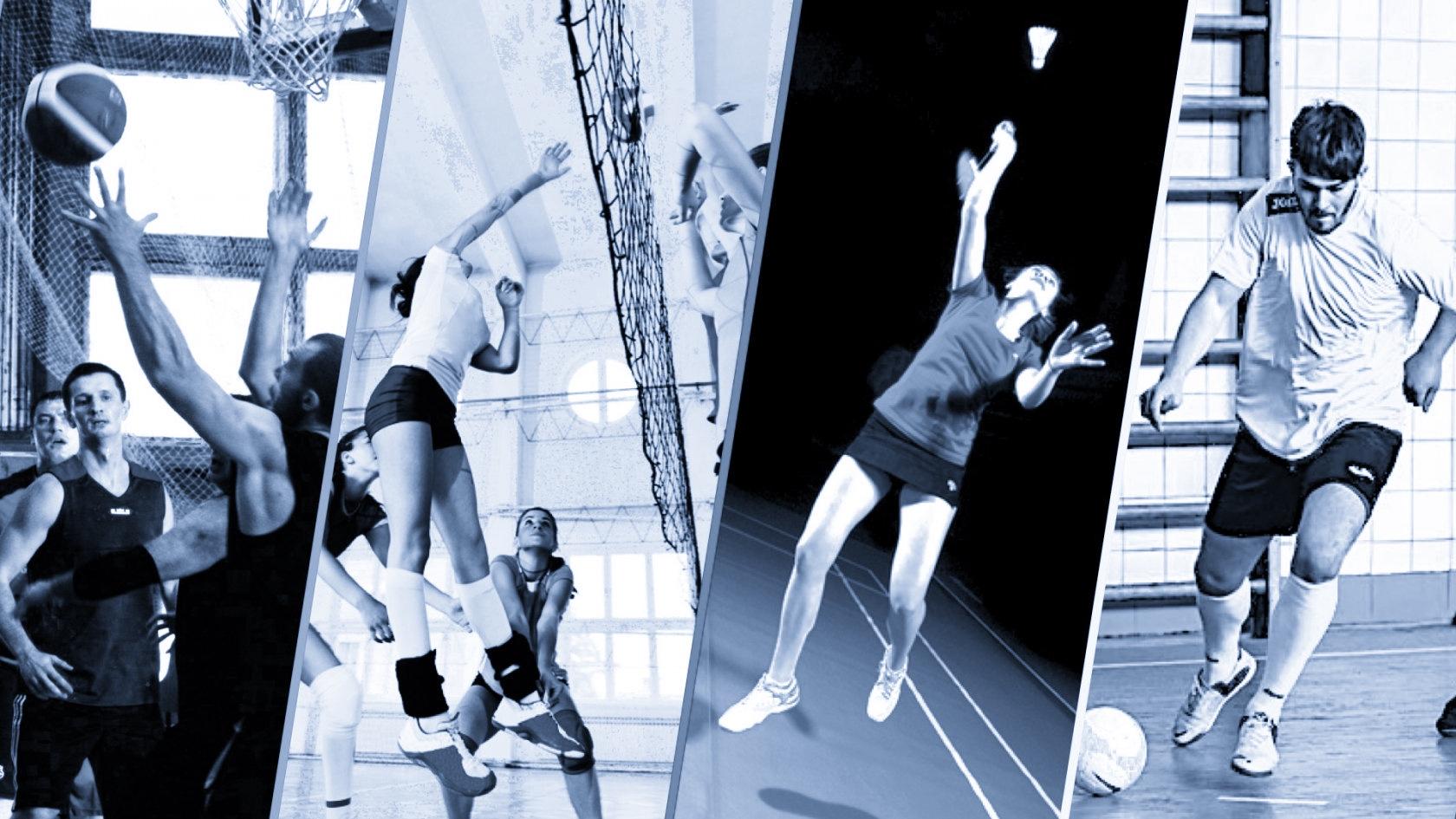 Картинки волейбол и баскетбол