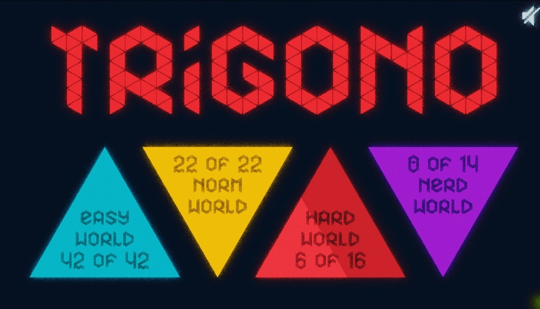 Trigono game world selection