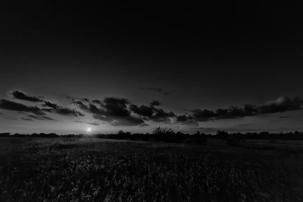 Черно-белый фильтр в Фотошопе