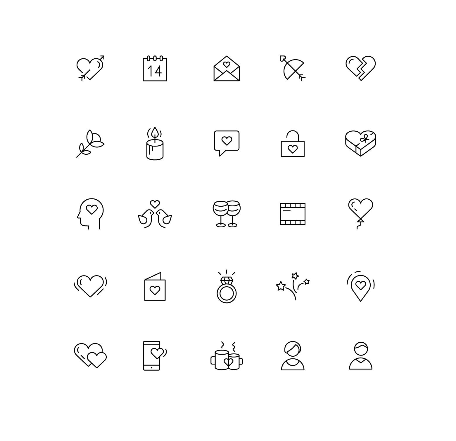 Иконки «Пункты»