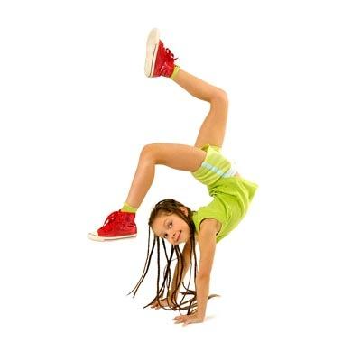 Гимнастический центр KrohaGym: акробатика для детей от 5 до 12 лет