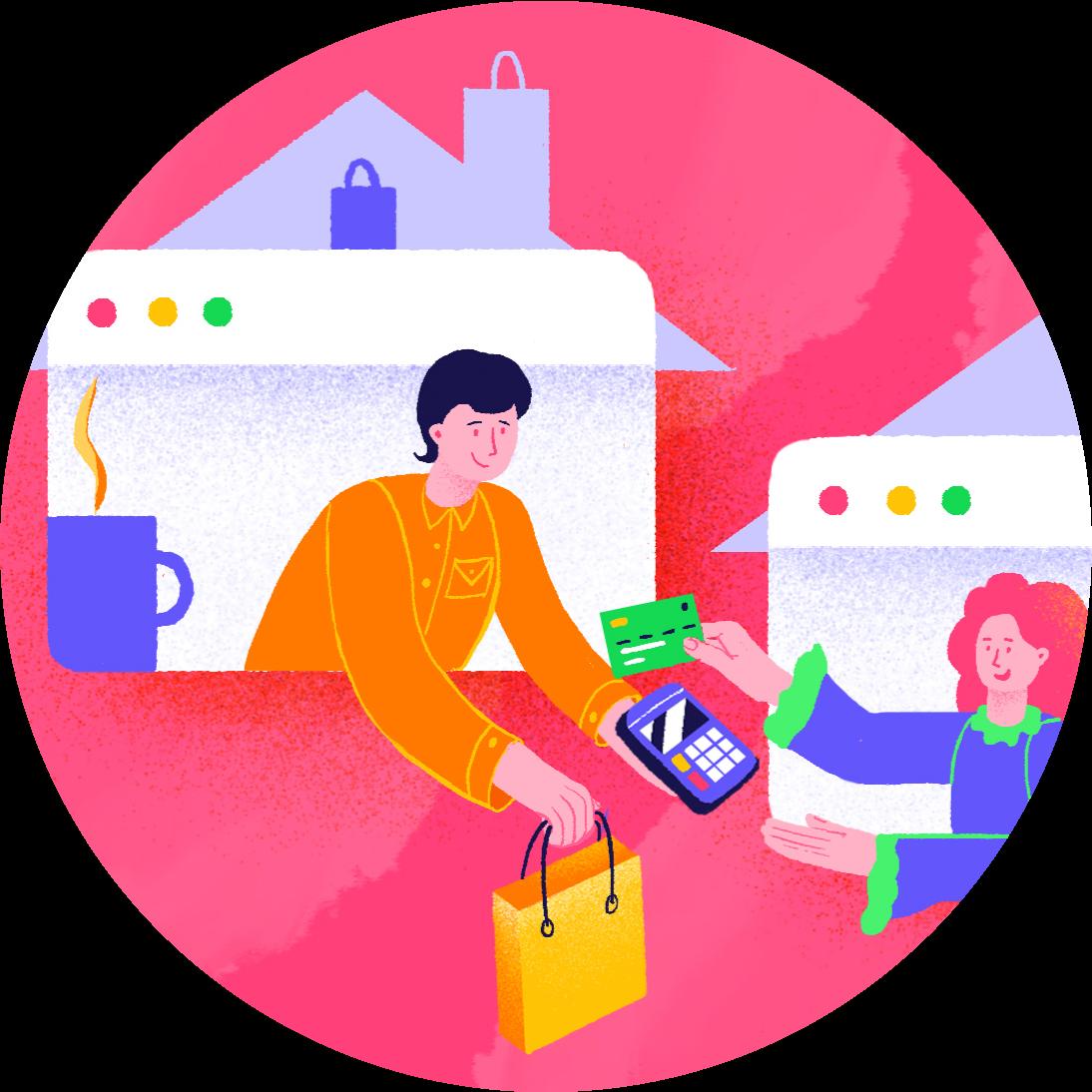 иллюстрация Как организовать удалённую работу отдела продаж