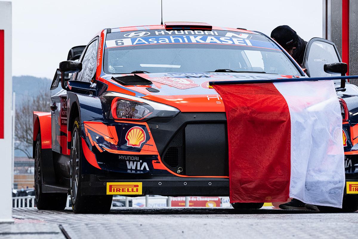Дани Сордо и Карлос дель Баррио, Hyundai i20 Coupe WRC, ралли Монте-Карло 2021