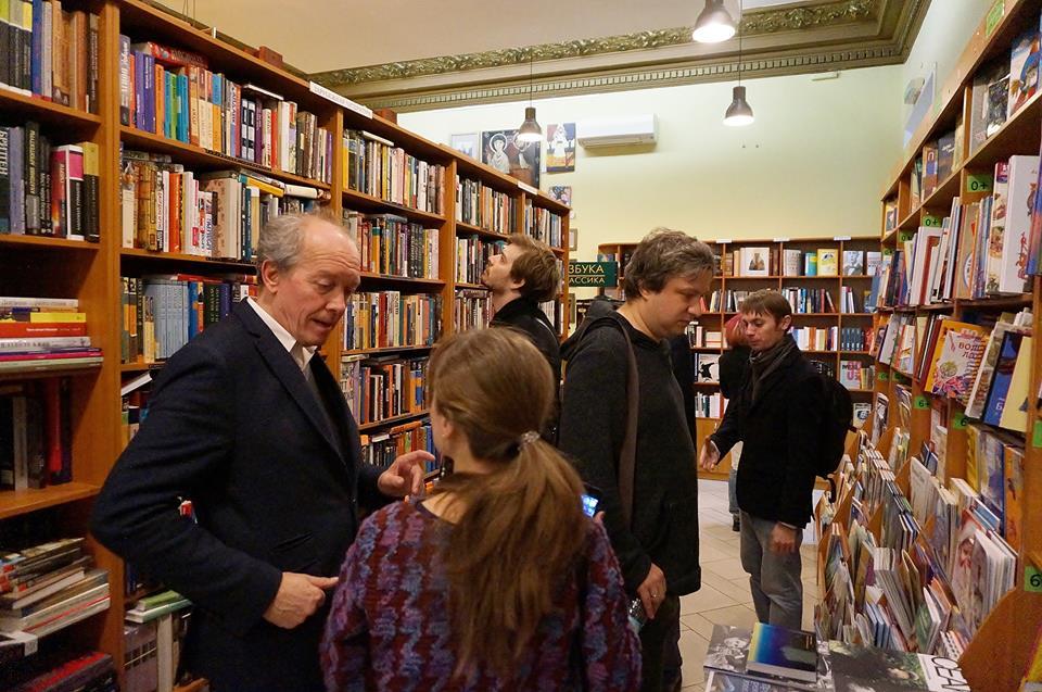 На выходе из «Покровских ворот»: бельгийский режиссер и сценарист Люк Дарденн в диалоге со своим переводчиком и кинокритик Антон Долин.