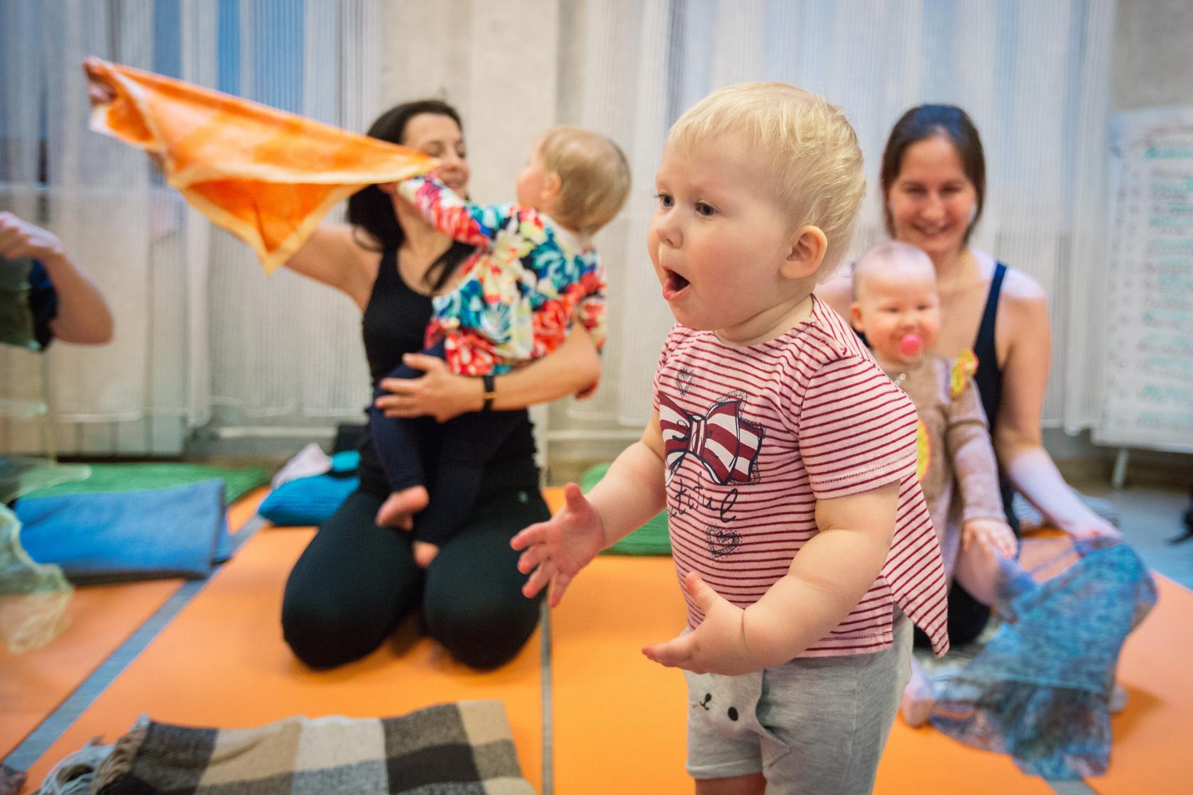 беби йога обучение