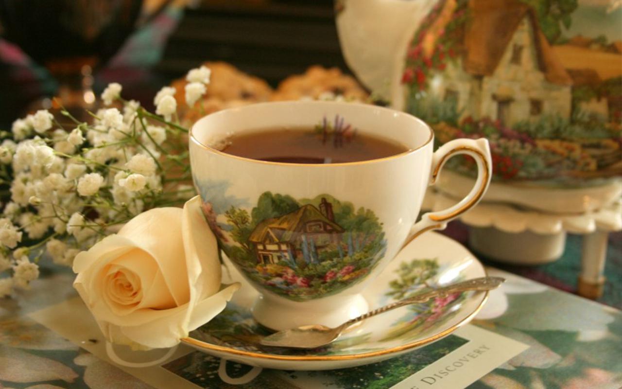 переведи на английский чай