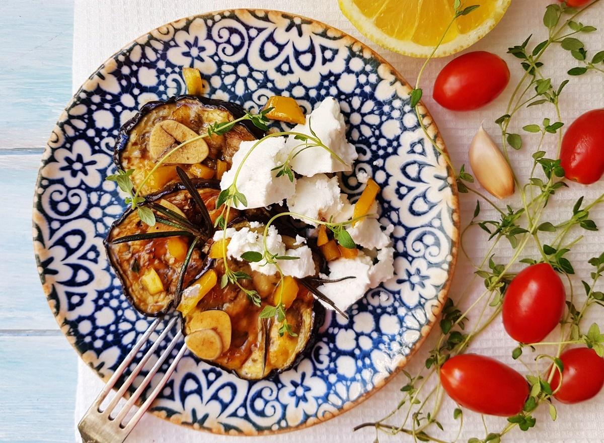 Баклажаны (в духовке) под маринадом в средиземноморском стиле. Фото рецепт. Вкусный Израиль.
