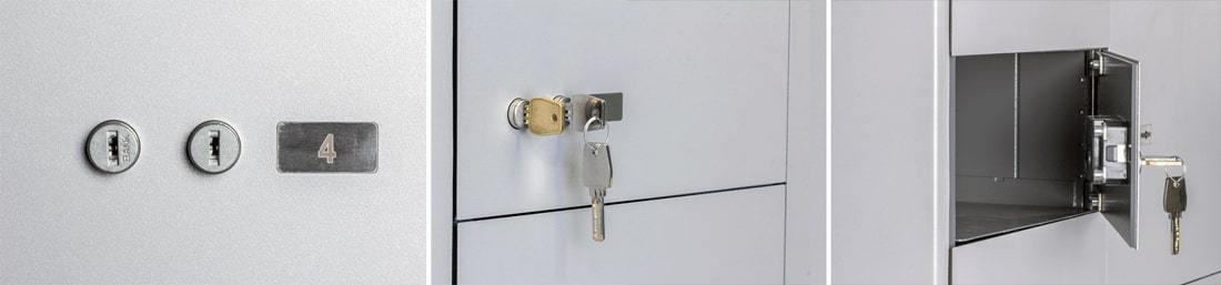 Двухключевая система доступа сейфовых ячеек DORS в Ташкенте