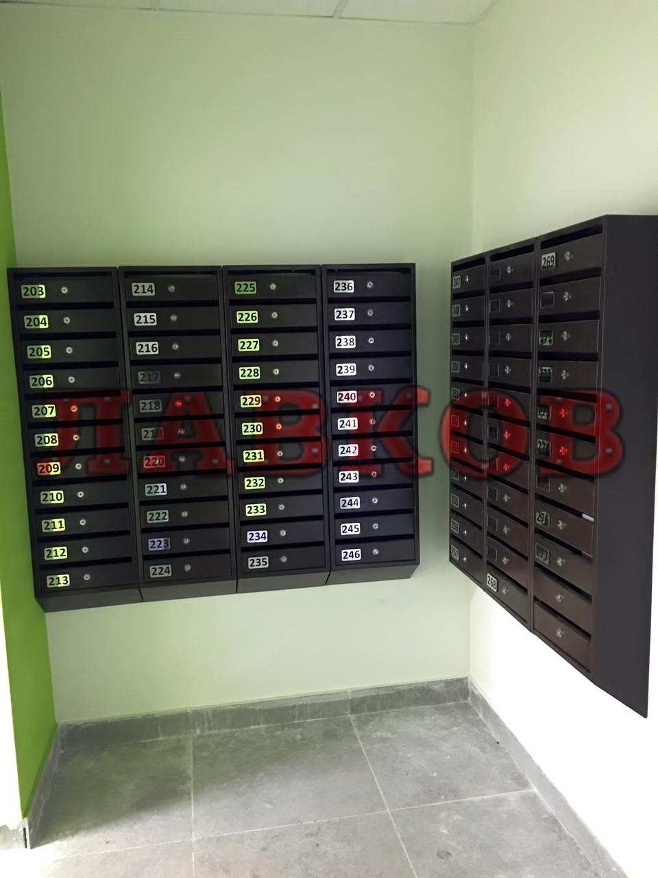 Установка почтовых ящиков Лавков