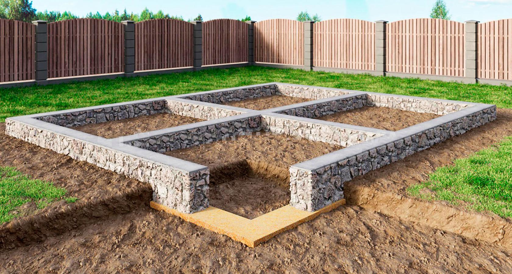 Фундамент под керамзитобетон блоки в30 прочность бетона