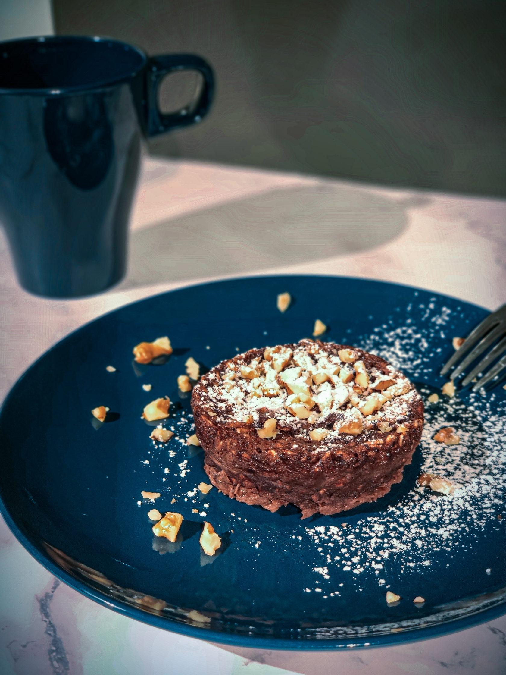 рецепт шоколадного пп-кекса в кружке