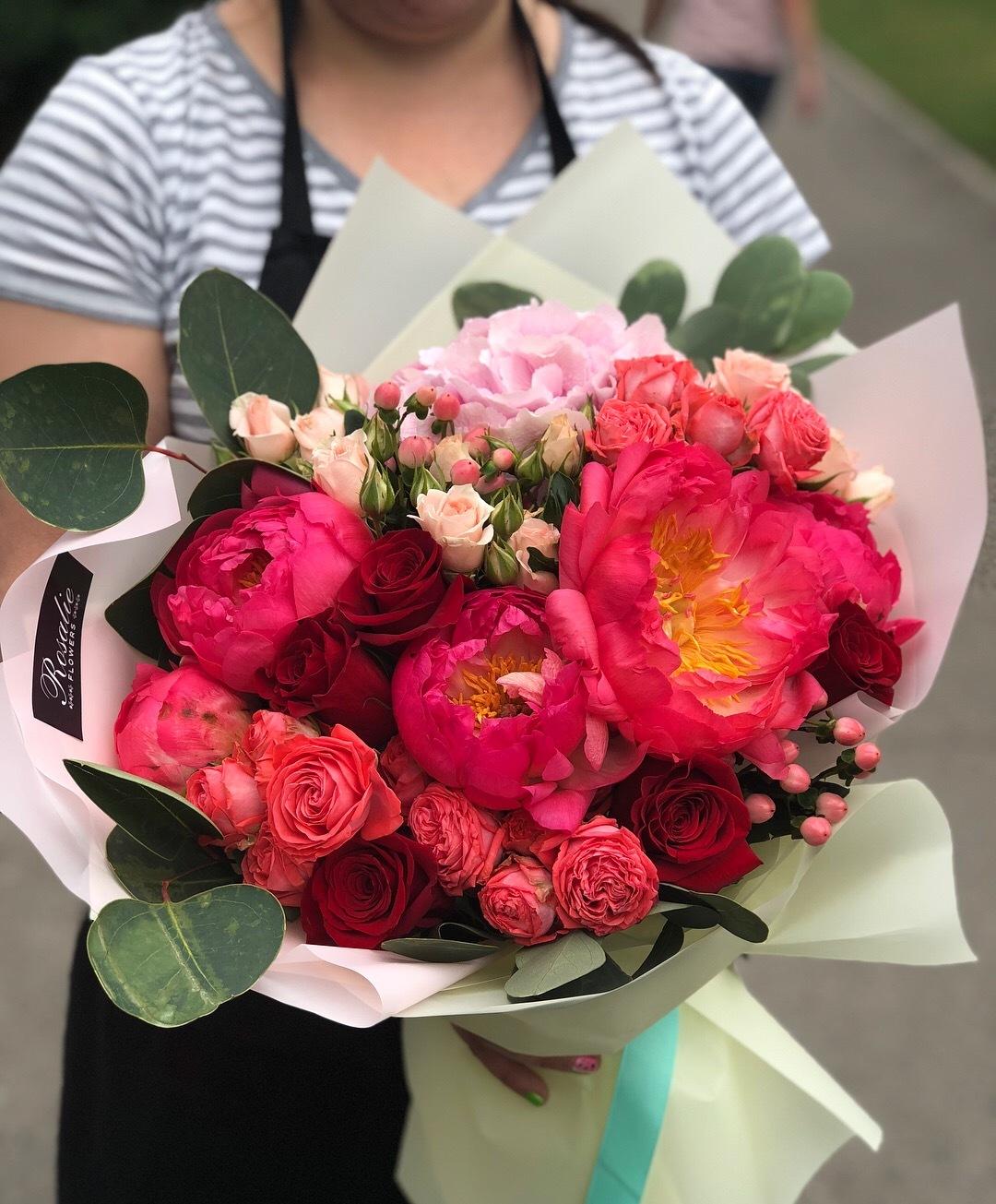 Доставка цветы алматы, букеты классика