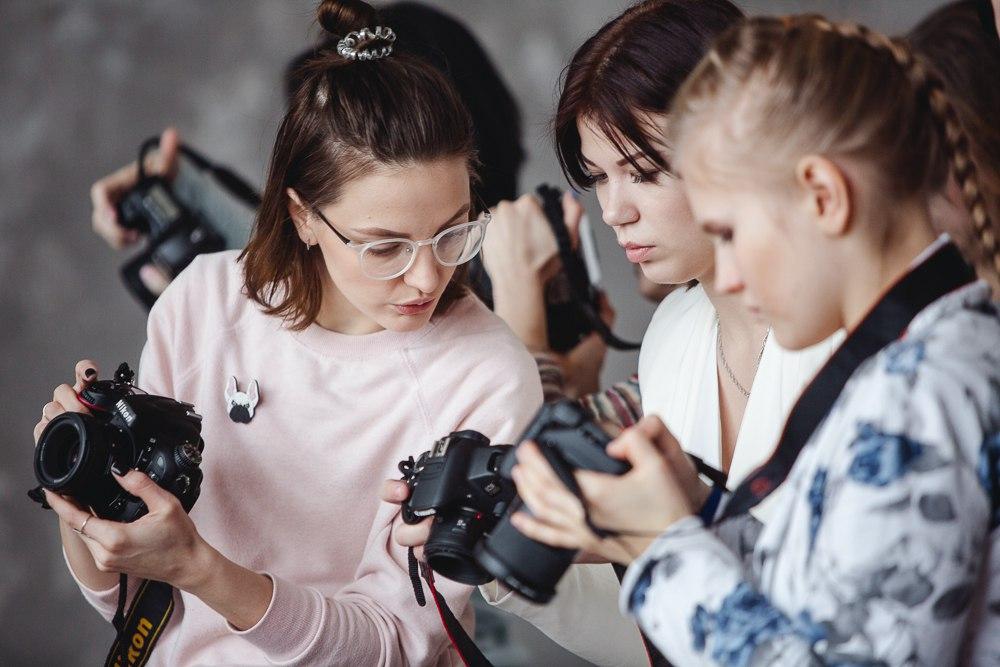 Курсы фотографии куда интереснее и увлекательнее проходить в компании единомышленников