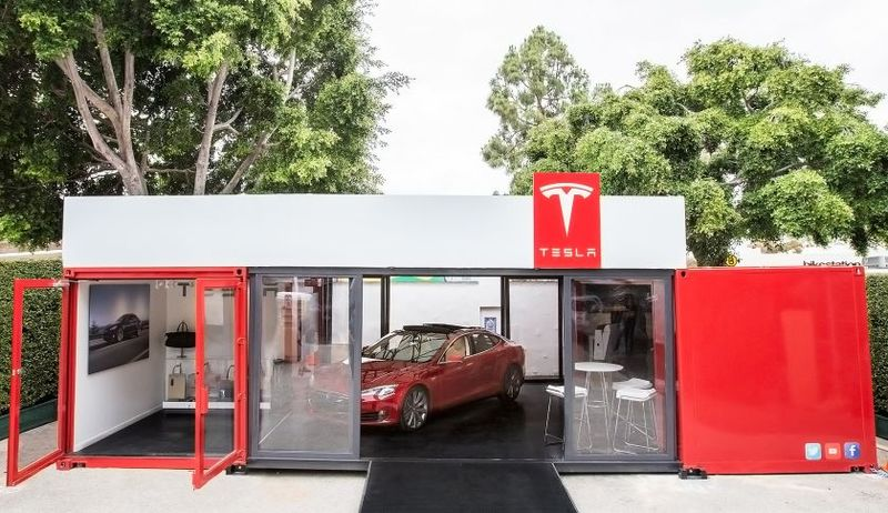 Tesla container