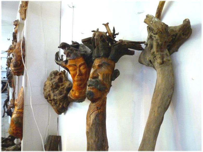 Выставка в музее Причуды Леса, Джубга