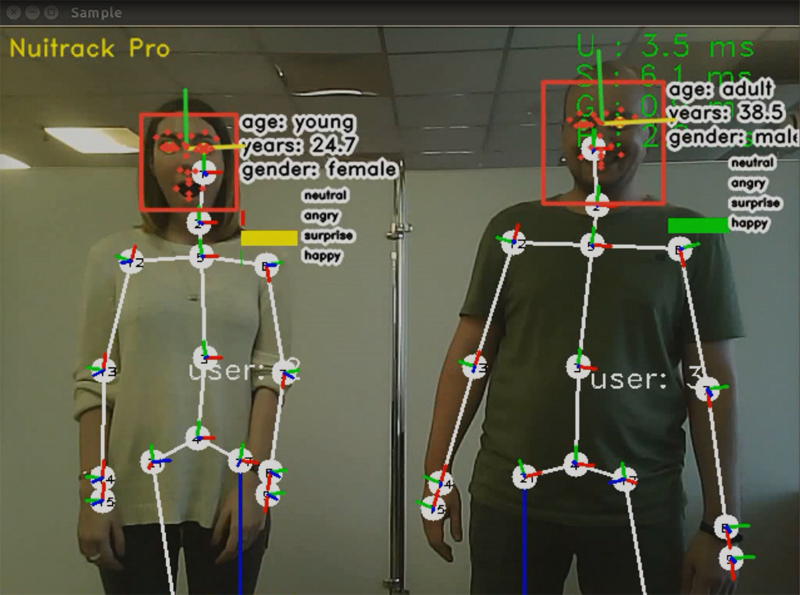 Face Tracking added to Nuitrack SDK!