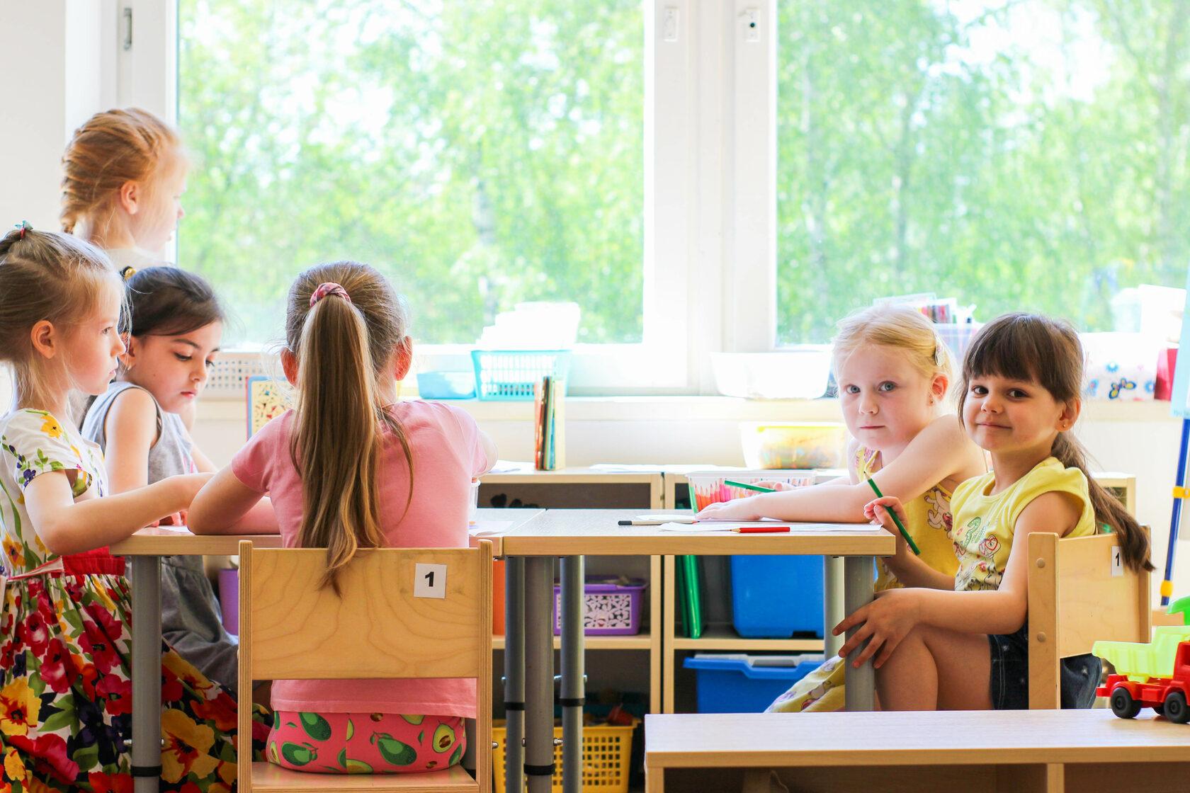 фото дизайна детского сада