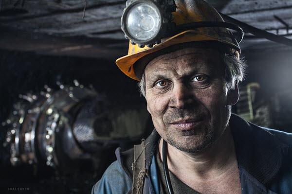 Работа на шахте в Польше