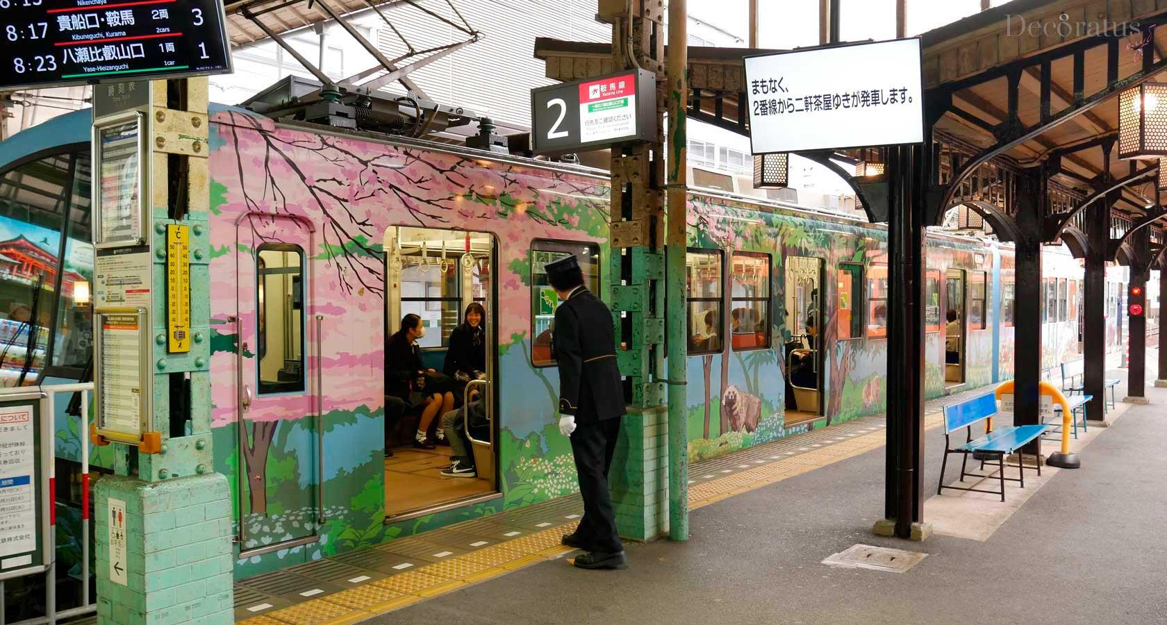 поезда японии