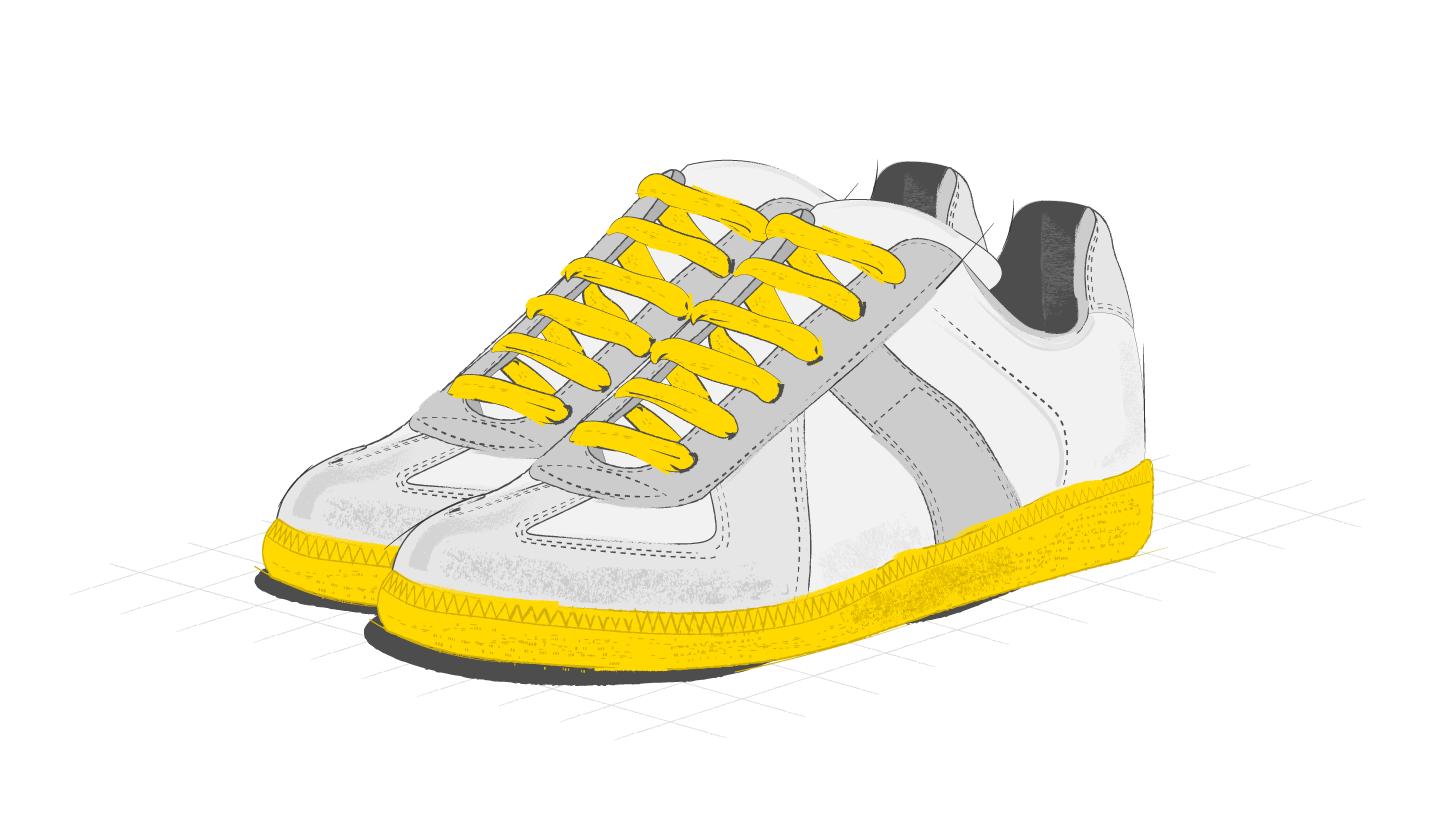 Элемент дизайна обуви