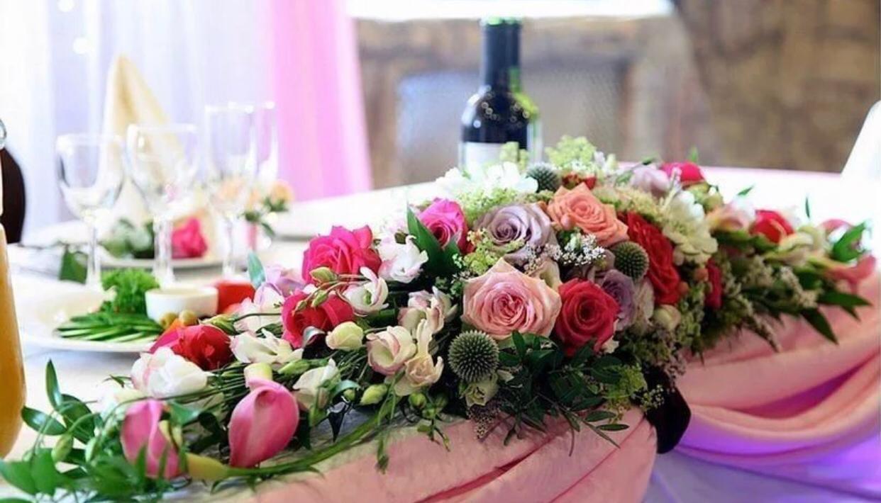 Букет на стол невесты фото и цены
