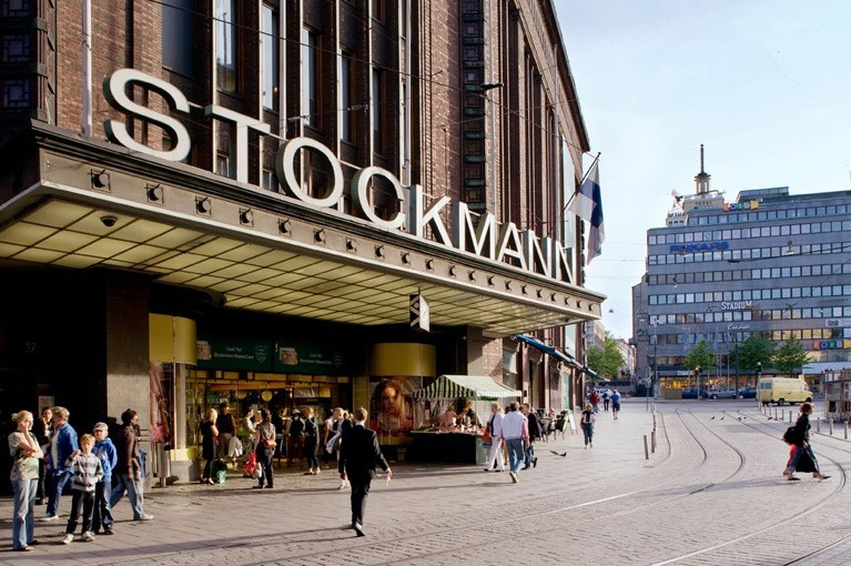 Шоппинг в Хельсинки в ТЦ Stockmann Department Store
