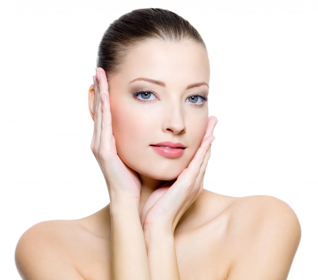 Facial skin product blowjob