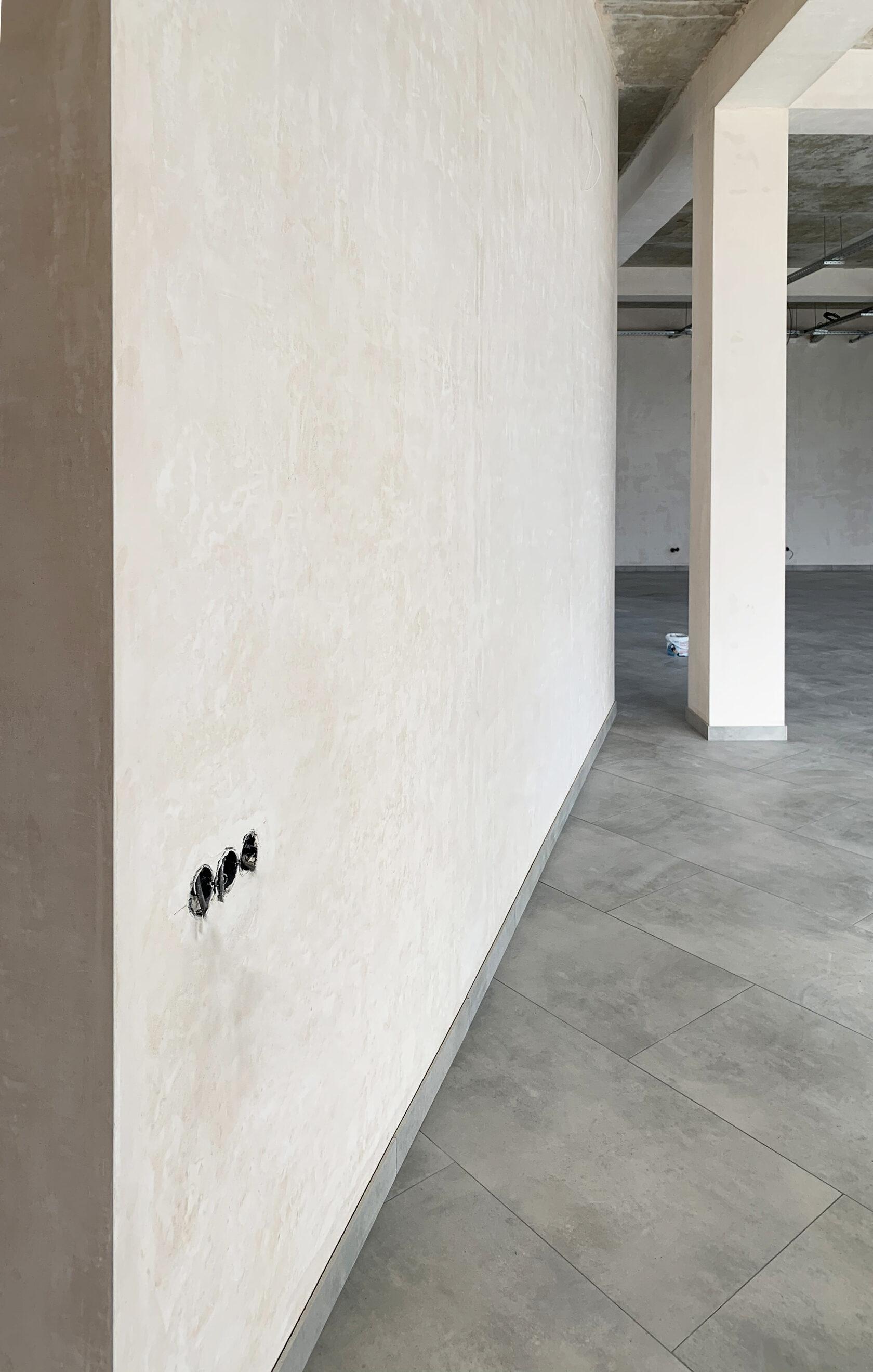 Оштукатурені стіни машинним методом