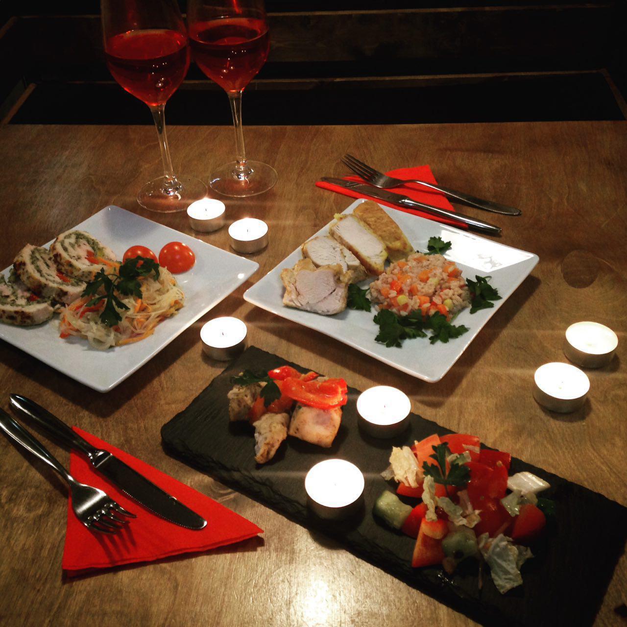 романтический ужин для первого знакомства