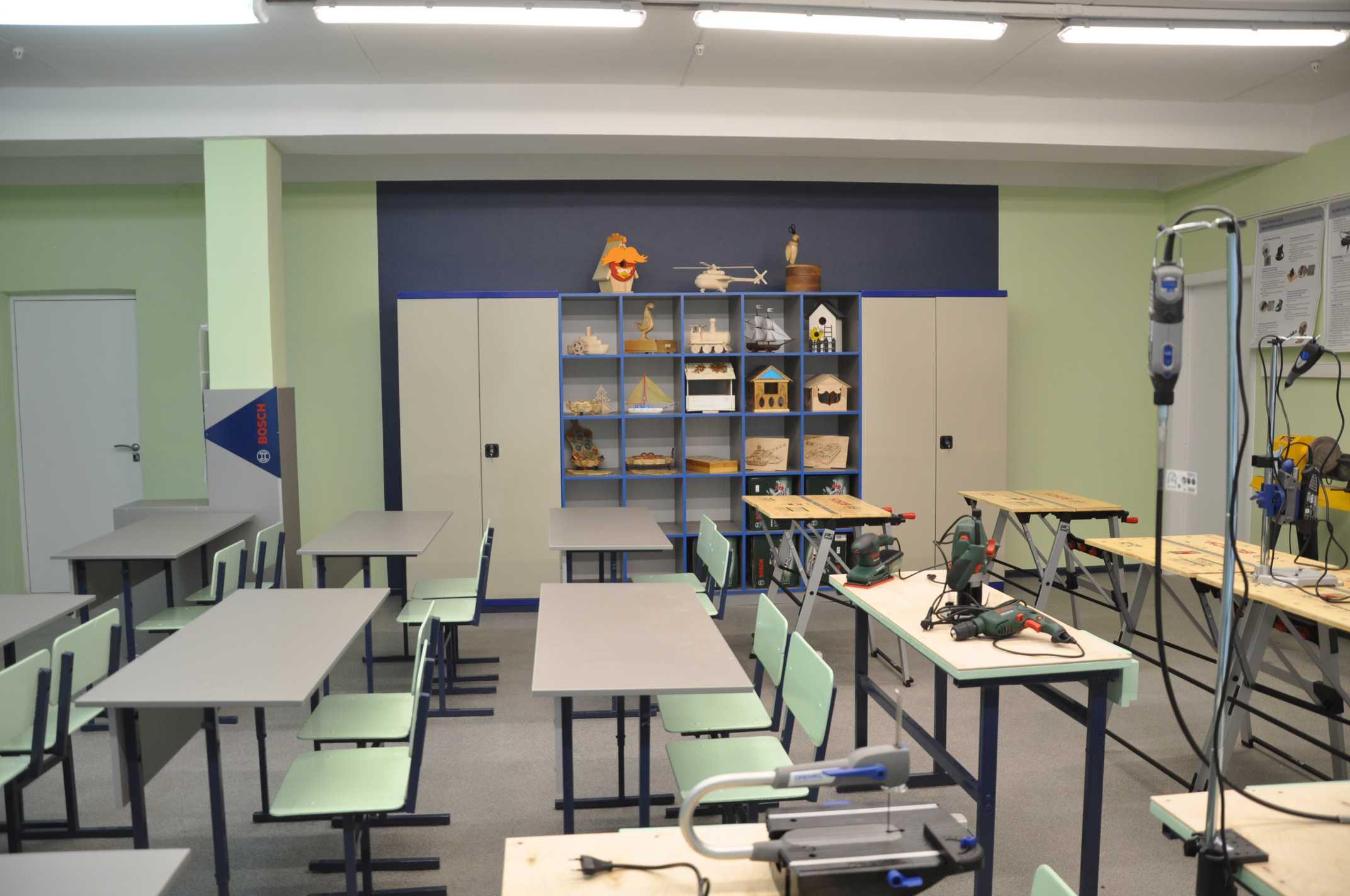 кабинет труда в школе картинки