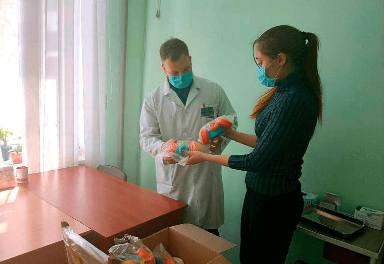 Партия Шария в Николаеве помощь медикам
