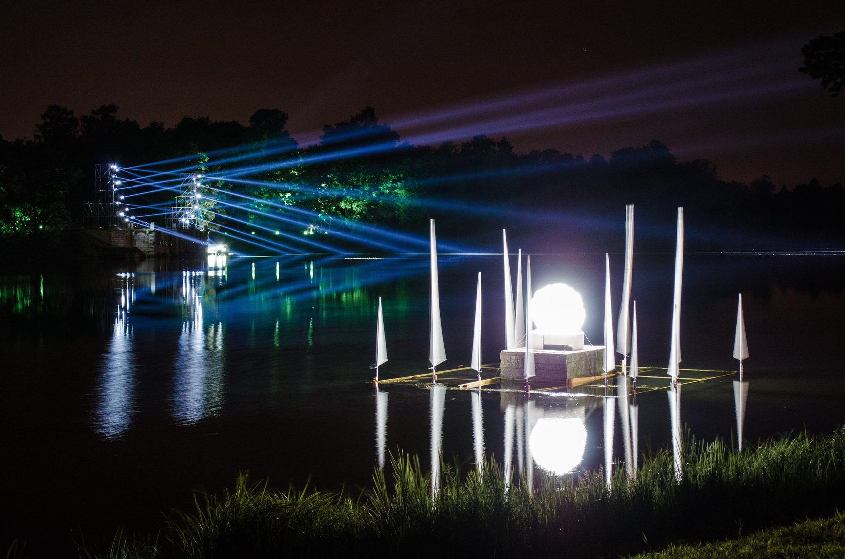 International Compeion Of Light Installations And