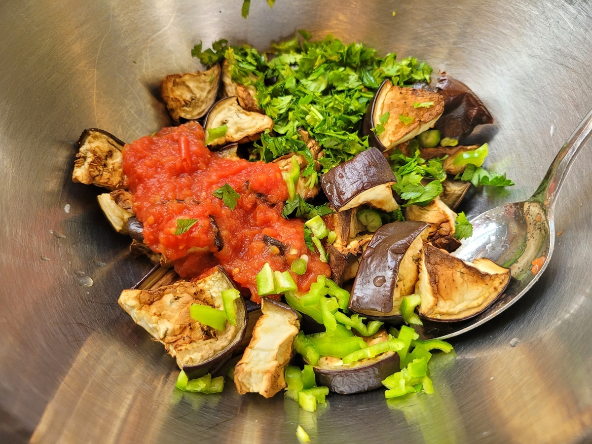 Салат - баклажаны в духовке. Вкусно и полезно. Блог Вкусный Израиль.