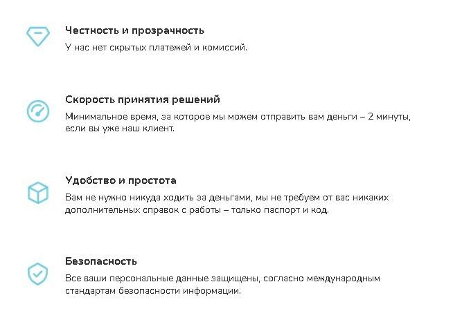 Преимущество Gofingo Украина