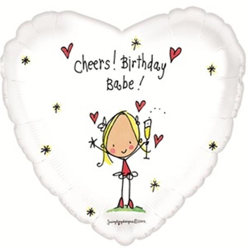 С днем рождения открытка с сердечком, картинках