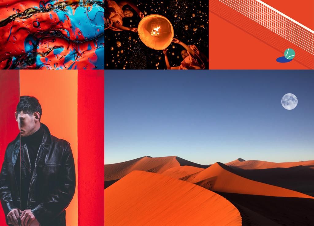 Примеры изображений Шаттерсток с пышной лавой — цветом 2020 года