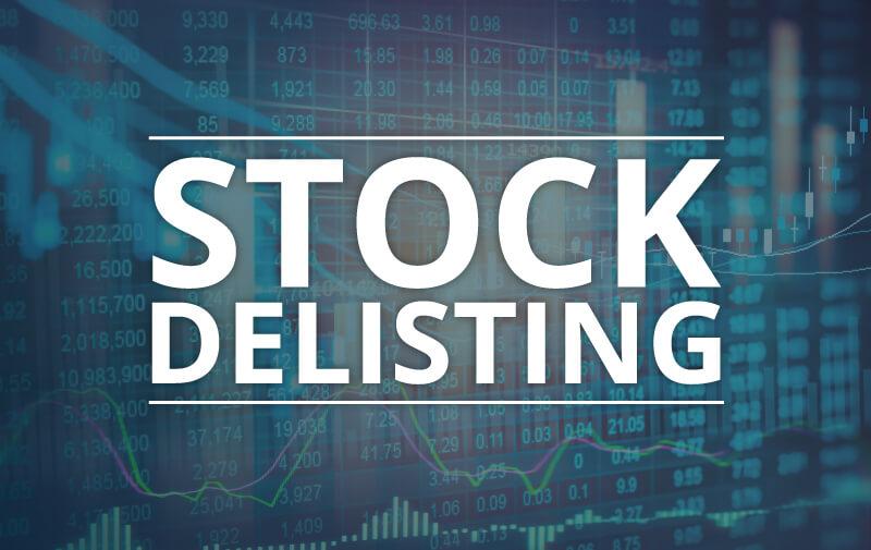 Акции иностранной компании будут исключены из обращения с американской биржи
