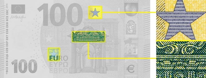 Микроузоры и микротексты на Евро