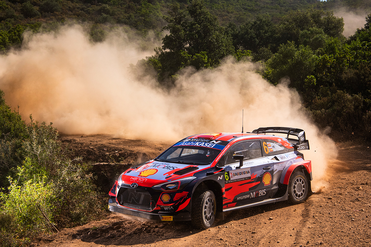 Дани Сордо и Борха Росада, Hyundai i20 Coupe WRC, ралли Сардиния 2021/Фото: Jaanus Ree