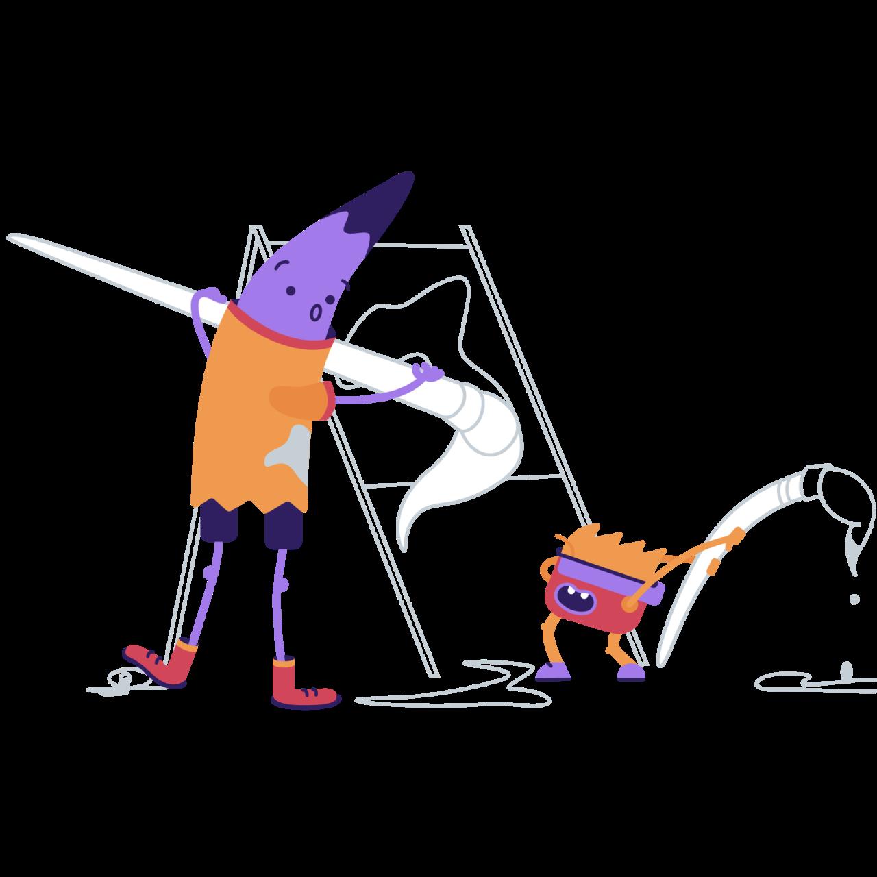 Обложка набора иллюстраций Pendum для онлайн образования, обучающих курсов