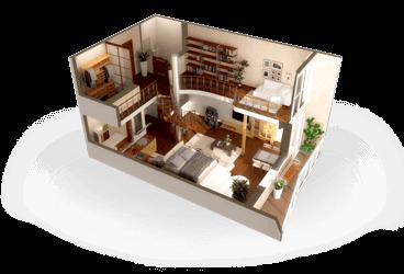 лестница квартира